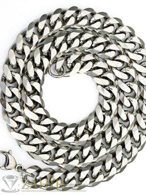 Масивен ланец от неръждаема стомана - 61 см, 0.9 см ширина класическа плетка - ML1085
