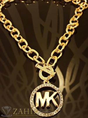 2016 хит ланец - 42 см с плочка Майкъл Корс - 3 см и златно покритие - K1423