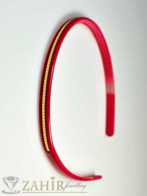 Пластмасова диадема - циклама - D1044