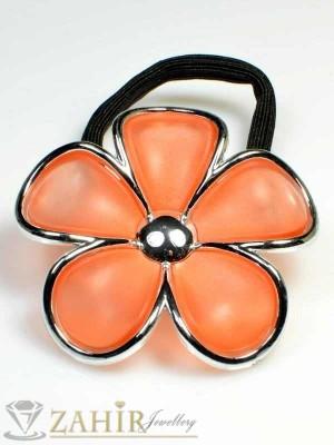 Ластик с оранжево цвете - LK1059