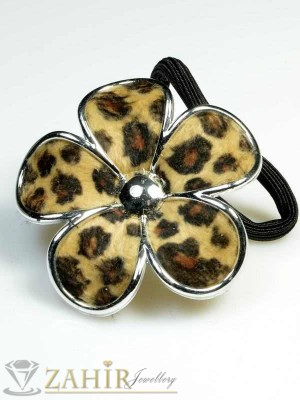 Ластик с леопардово цвете - LK1063