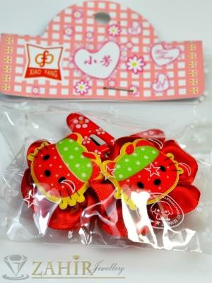 Комплект цветни детски фиби - DF1005