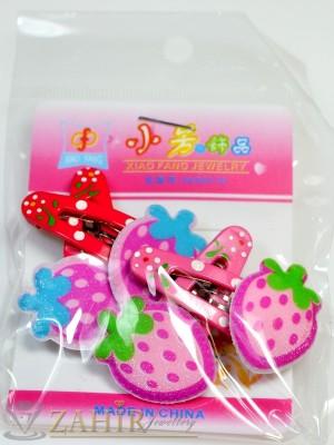 Комплект цветни детски фиби - DF1009