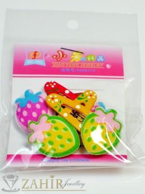 Комплект цветни детски фиби - DF1010
