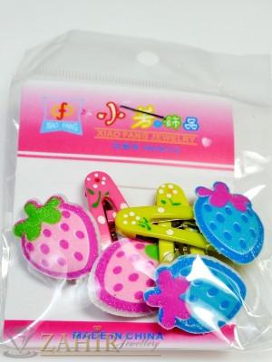 Комплект цветни детски фиби - DF1012