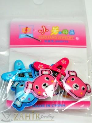 Комплект цветни детски фиби - DF1020
