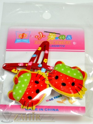 Комплект цветни детски фиби - DF1026