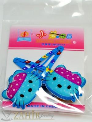 Комплект цветни детски фиби - DF1027