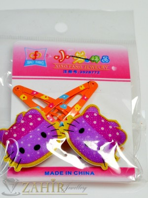 Комплект цветни детски фиби - DF1028