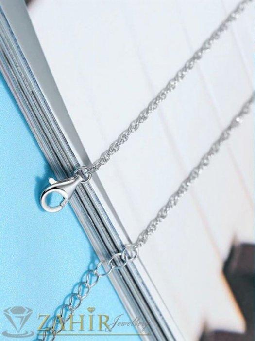 Дамски бижута - Високо качество топ-хит модел гривна за глезен с класическа верижка , дълга 22+ 5 см ,неръждаема стомана - GK1249