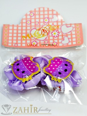 Комплект цветни детски фиби - DF1001