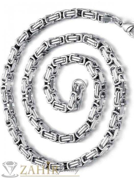 Мъжки ланец 60 см от неръждаема стомана топ-хит модел, широк 0,5 см - MK1141