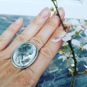 Изберете седефен пръстен, регулиращ се,поръчка  на тел.0888 808 150 #пръстен #пръстени#бижута #бижутазахир #мода2019 #мода #jewels#jewellery #jewelry #instarings